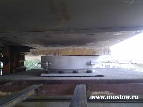 Ризиновые опорные части для мостов